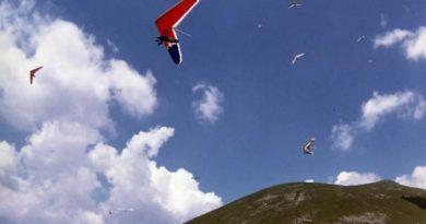 Precipita col deltaplano dopo il decollo: è un vigile del fuoco viterbese