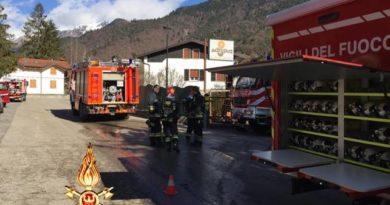 Incendio in struttura alberghiera