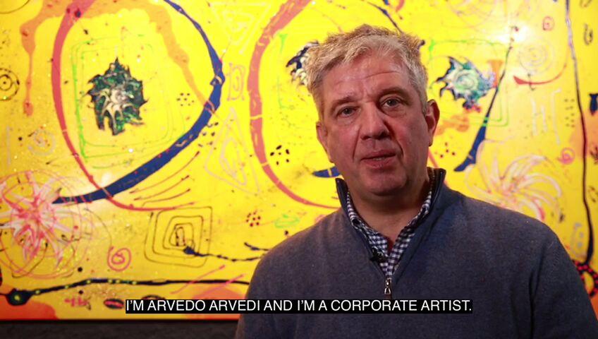 Che cosa è la Corporate Art? Ce lo spiega il corporate artist per eccellenza Arvedo Arvedi