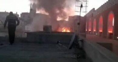 Incendio nel Palazzo Merlato di Procida: nessun ferito, si contano i danni