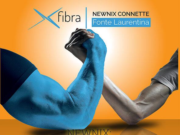Internet, con NewniX innovazione e convenienza. A Fonte Laurentina l'eccellenza in fibra FTTH