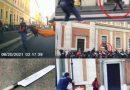 Video – Armato di coltello alla stazione Termini, la polizia spara per fermarlo