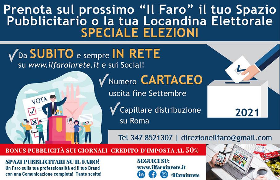 Pubblicità elettorale del Faro