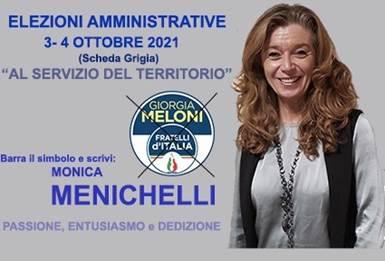 Municipio IX: Vota Monica Menichelli